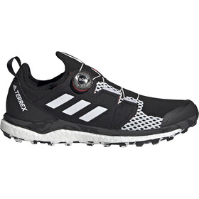 adidas TERREX Agravic Boa Trail Running Shoes Men, core black/crystal white/solar red